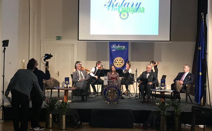 Slavnostno srečanje Rotarijcev