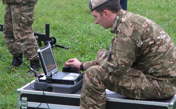 Slovenska vojska, računalnik, brezpilotnik