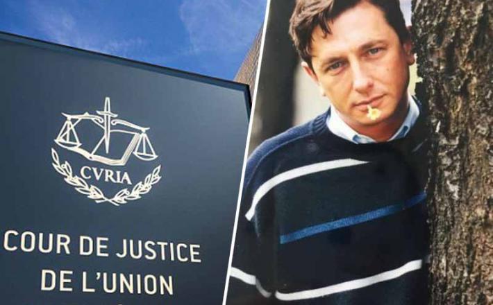 Sodišče EU in Borut Pahor