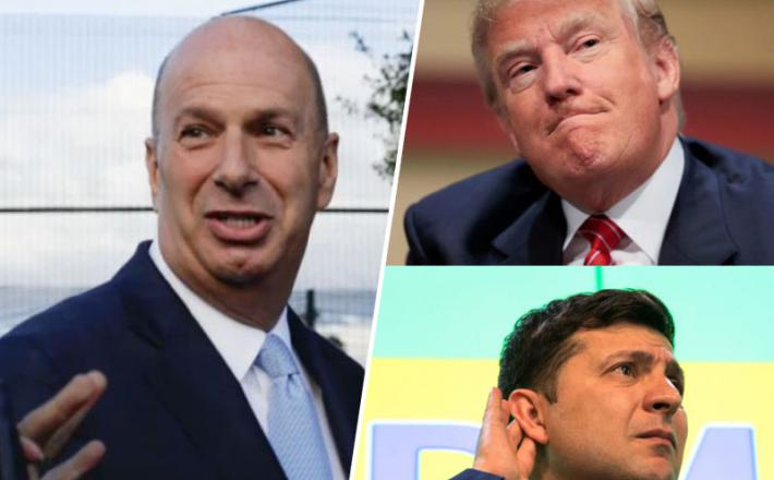 Sondland, Trump, Zelenski