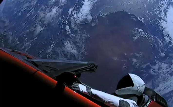 Space X - Starman, Tesla