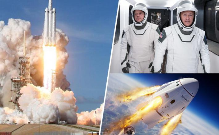 Space X - polet na Mednarodno vesoljsko postajo