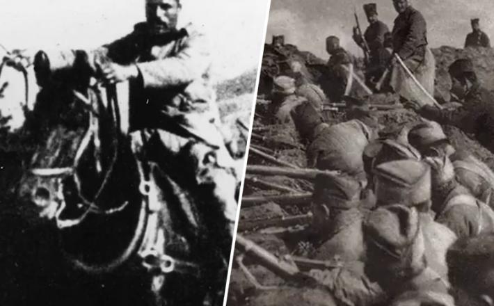 Srbski vojaki - prva svetovna vojna