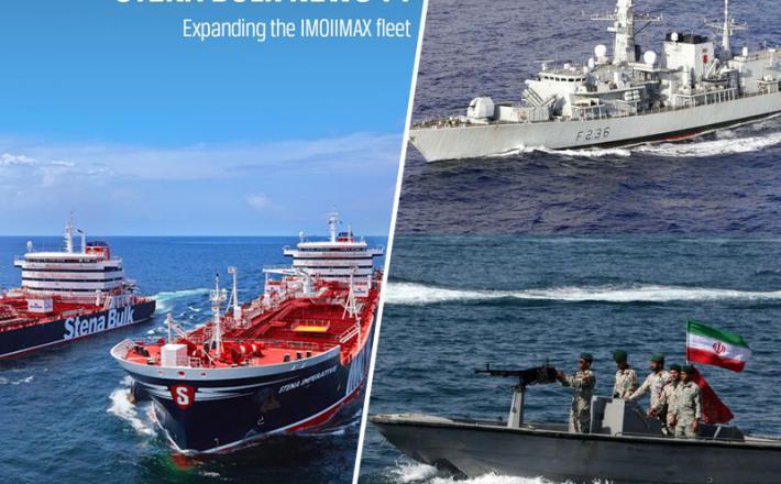 Iranski hitri čolni, tankerji, HMS Montrose