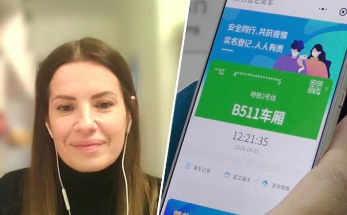 Na Kitajskem je spremljanje stikov najpomembnejše ...