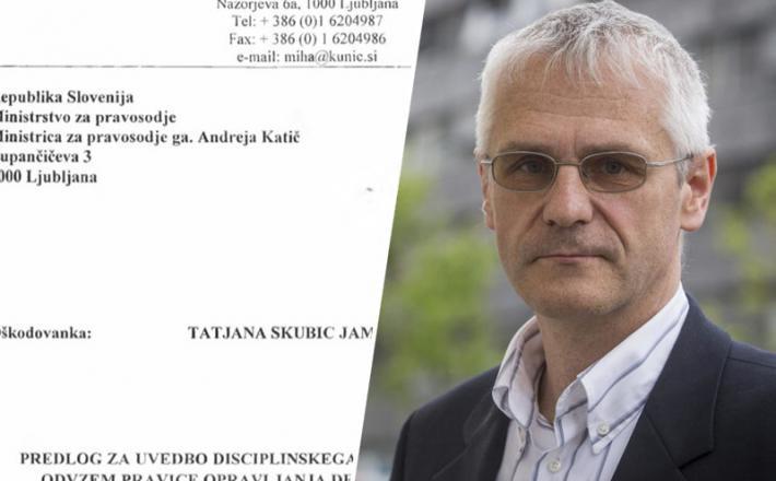 Mitja Štular in zahteva za izločitev