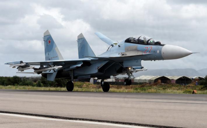 Su-35  Vir:Twitter