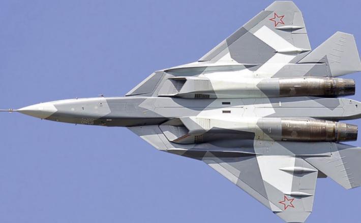 Su-57      Vir:RBTH