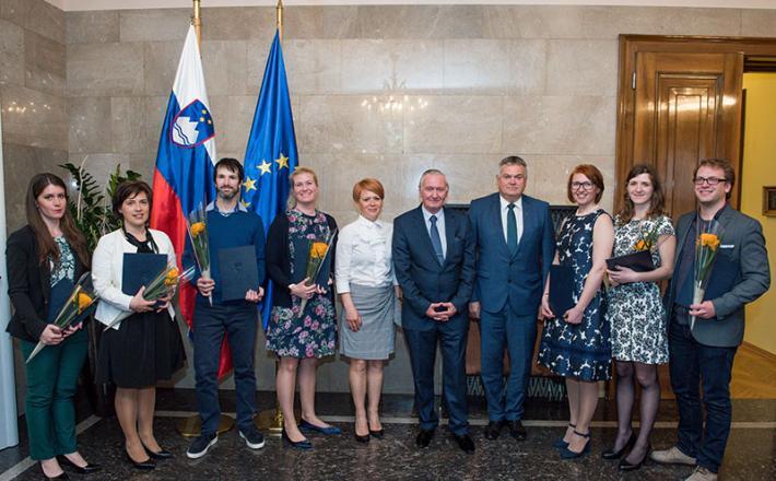 Svečana podelitev Urada Vlade RS za Slovence v zamejstvu in po svetu