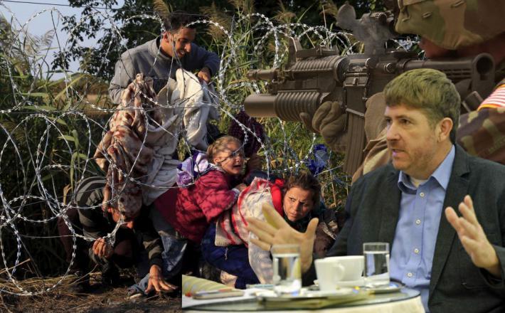 Rok Svetlič bi streljal na migrante...