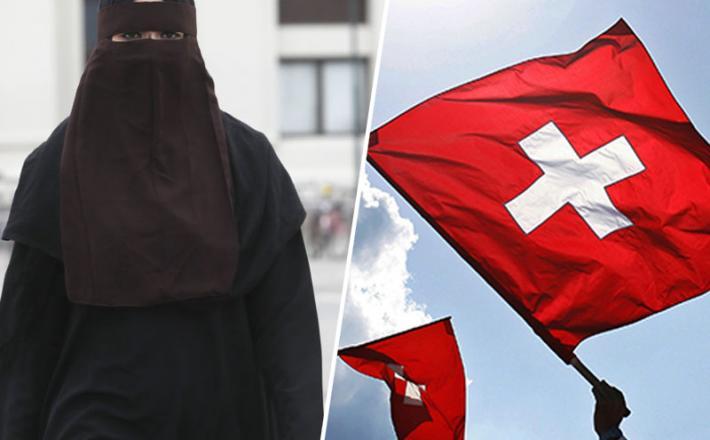 Švica - nikab