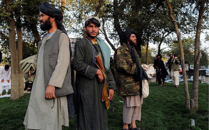 Talibani v Kabulu  Vir: Twitter