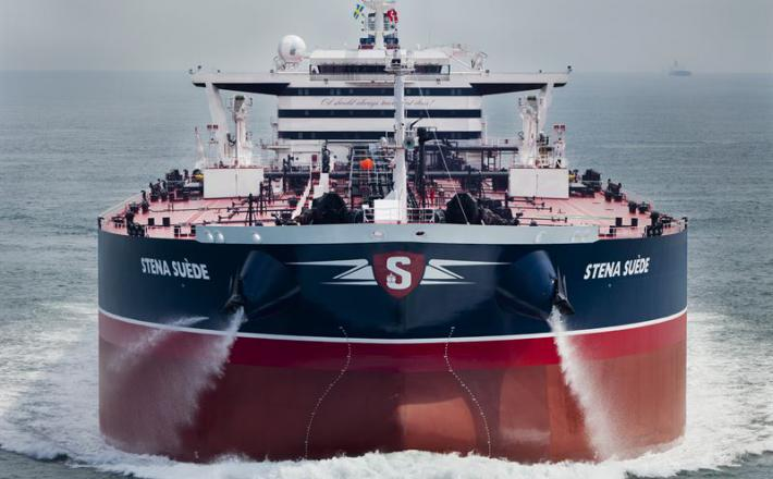 Stena Bolk, tanker   Vir:gcaptain