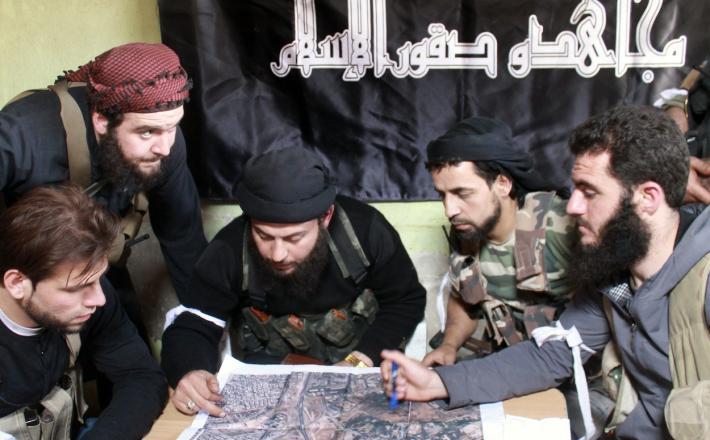 Dihadisti načrtujejo napad.    Vir: Spectator