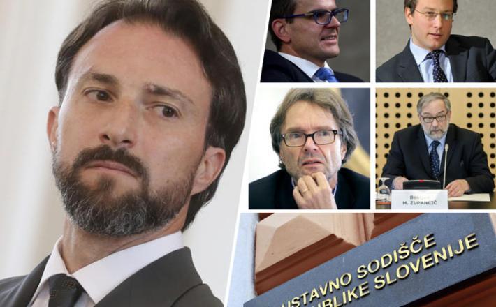 Andraž Teršek in podporniki odločitev vlade