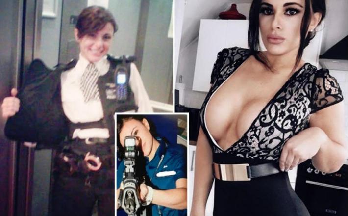 Prhka londonska policistka, vir: Instagram