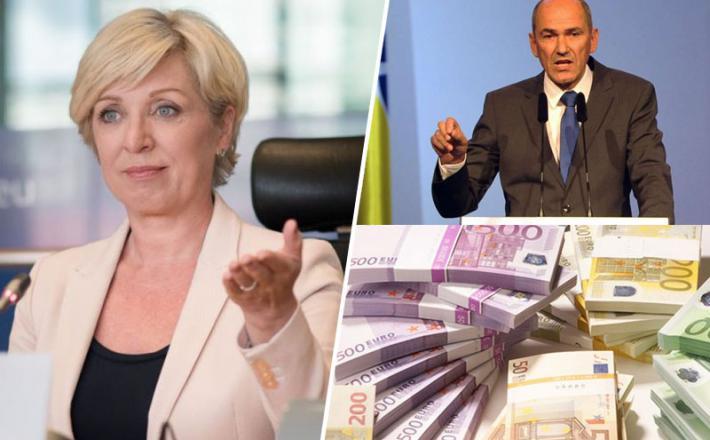 Tomčeva in Janša zahtevata molk v zameno za državni denar