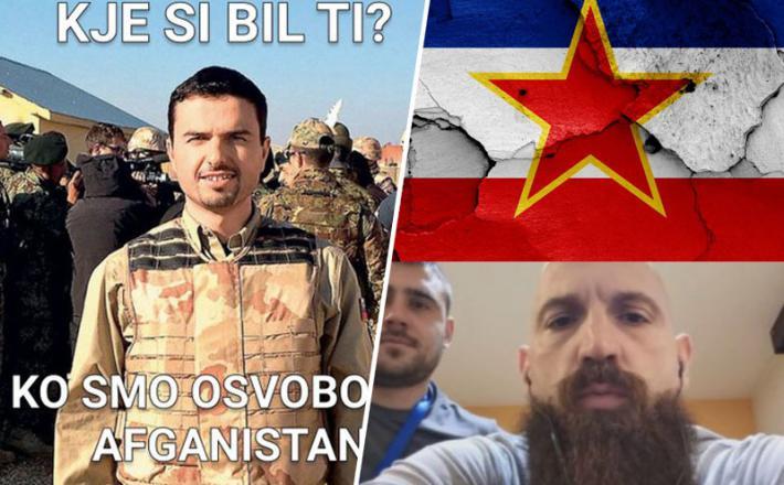 Tonin in javljanje iz Afganistana