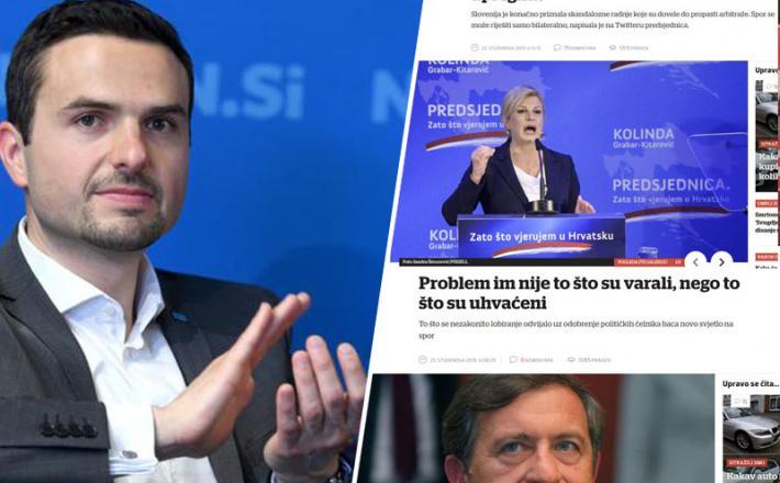 Matej Tonin in hrvaški mediji