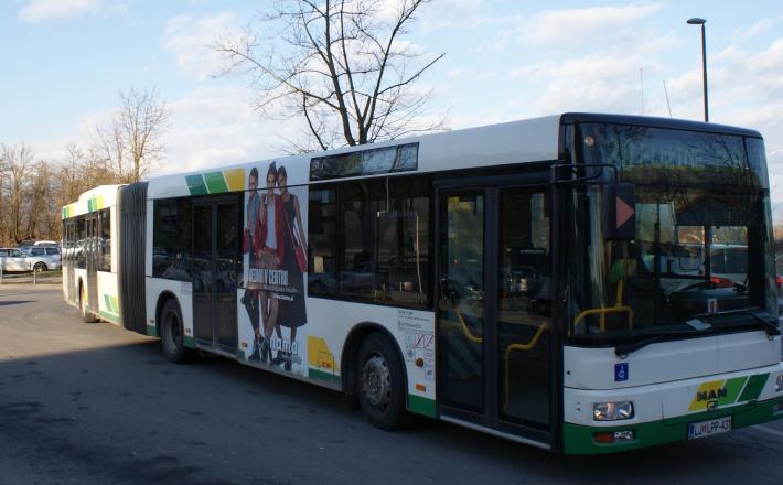 Trola LPP avtobus mestni prevoz