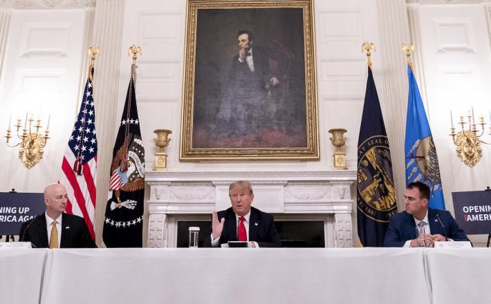 Trump in podjetniki