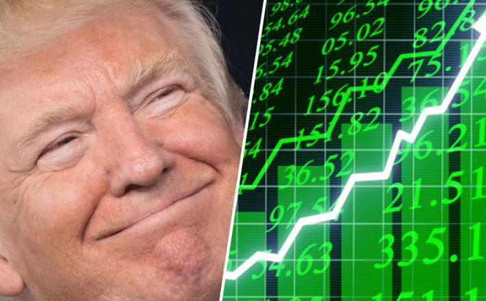 Trump in vzpon trgov