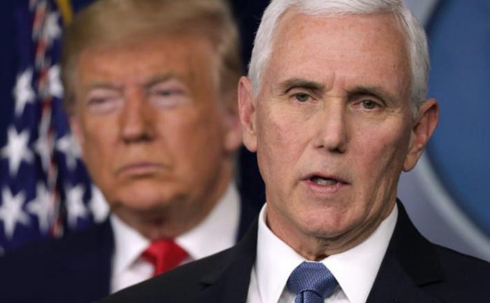 Vojna v Beli hiši: Donald Trump vs. Mike Pence. Vir: Twitter