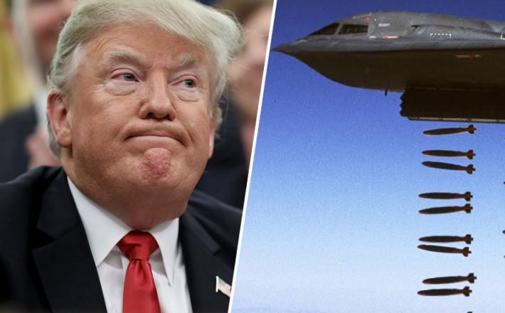 Trump in bombnik
