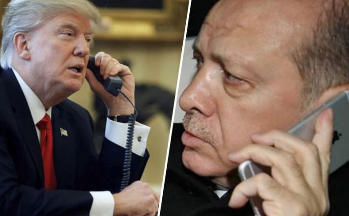 Trump in Erdogan - telefonski pogovor
