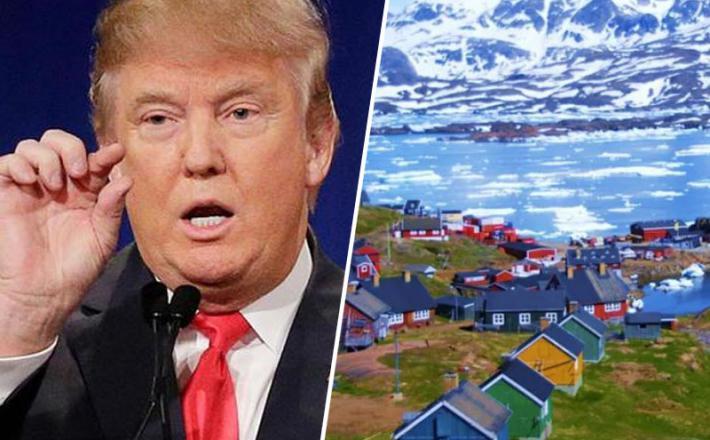 Donald Trump načrtuje nakup Grenlandije za mičkeno ceno