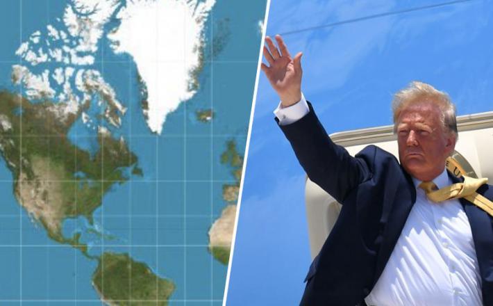 Trump in Grenlandija