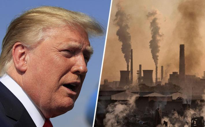 Trump, okolje, onesnaževanje