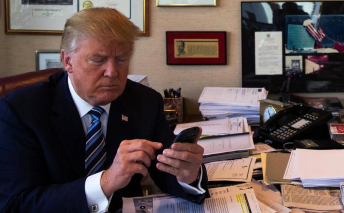 Donald Trump tvita