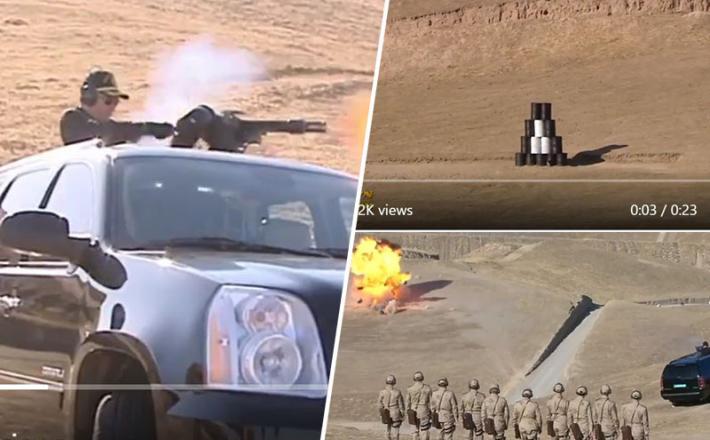 Turkmenistan - streljanje