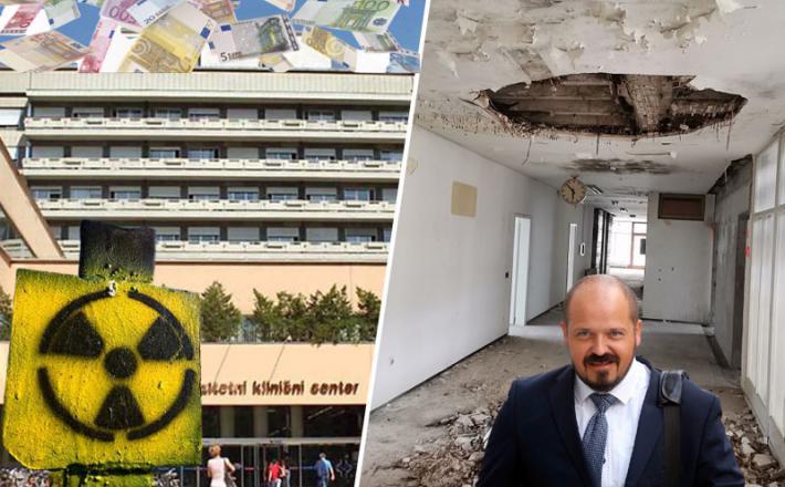 UKC Ljubljana in Janez Poklukar, ki mu denar očitno pada z neba