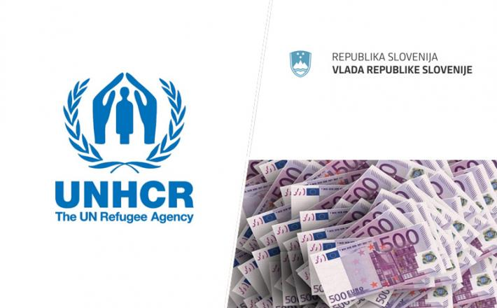 UNHRC in vlada RS, denar