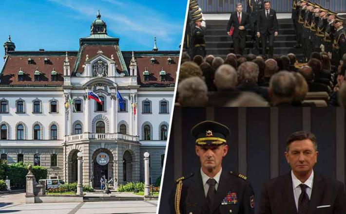 Univerza in paradiranje vojske v režiji Igorja Papiča in Boruta Pahorja