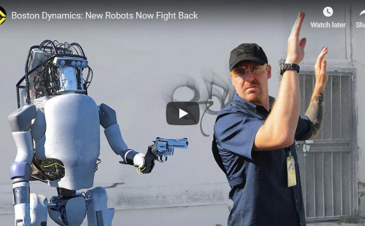 Upor robota    Vir:Corridor Digital