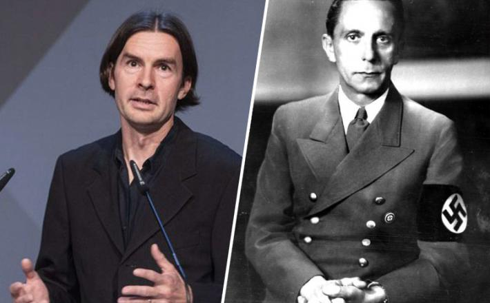 Urbanija in njegov vzornik, Joseph Goebbels