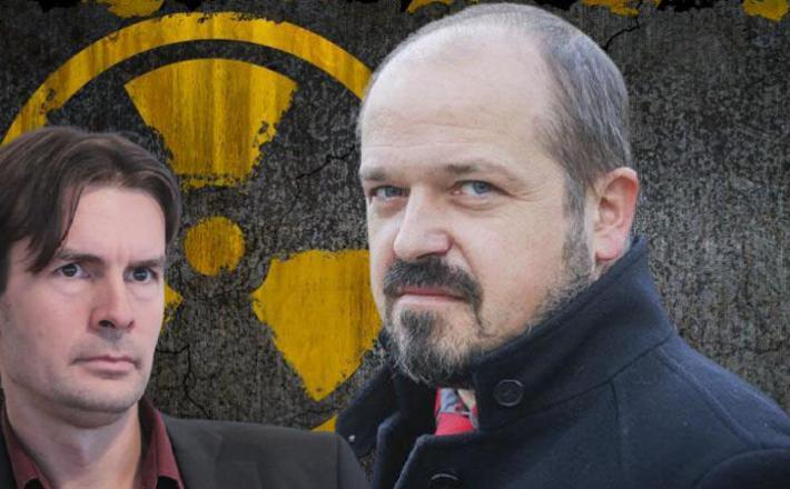Uroš Urbanija in Janez Poklukar Montaža: Insajder.com