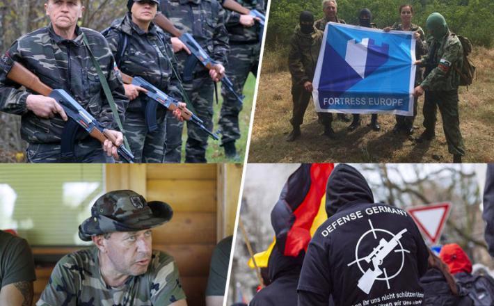 """Vardisti in desničarji v obrambi """"Trdnjave Evropa"""""""