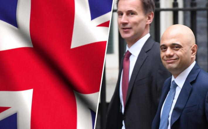VB / Sajid Javid in Jeremy Hunt
