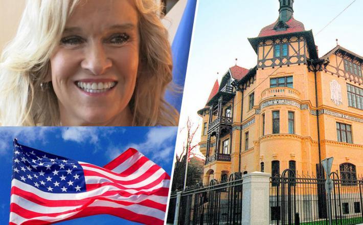 Veleposlanica Blanchard in veleposlaništvo ZDA v Sloveniji