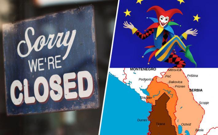 EU in nov izziv - Velika Albanija?
