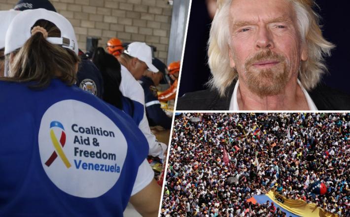 Venezuela, Richard Branson