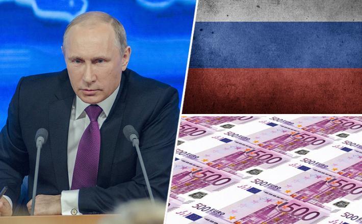 Vladimir Putin, denar