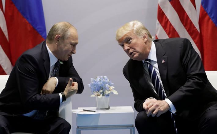 Vladimir Putin in Donald Trump