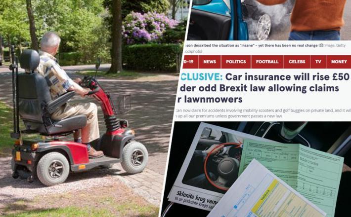 Vnukovo pravilo - zavarovanja bodo v Britaniji zato dražja...