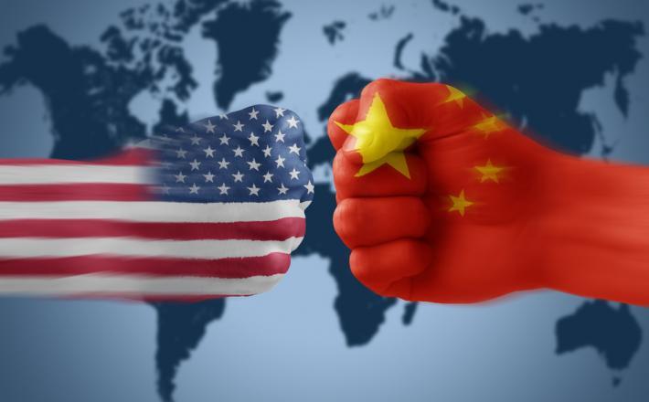 Kitajska proti ZDA Vir:Geopolitika.ru