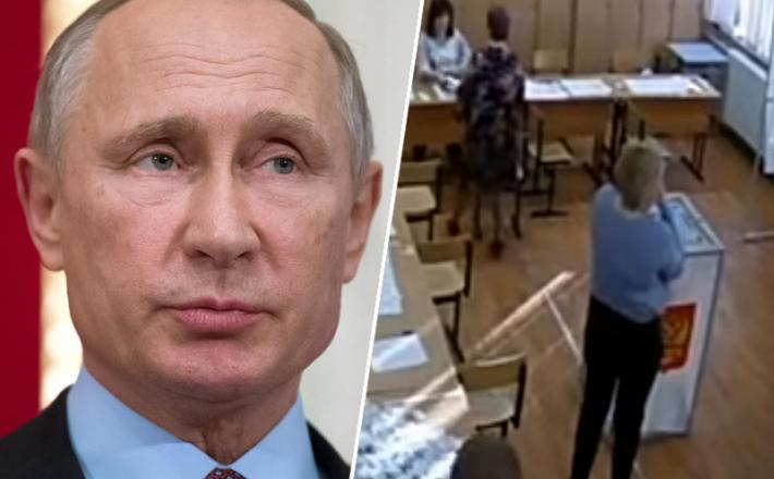 Volitve Vladimir Putin